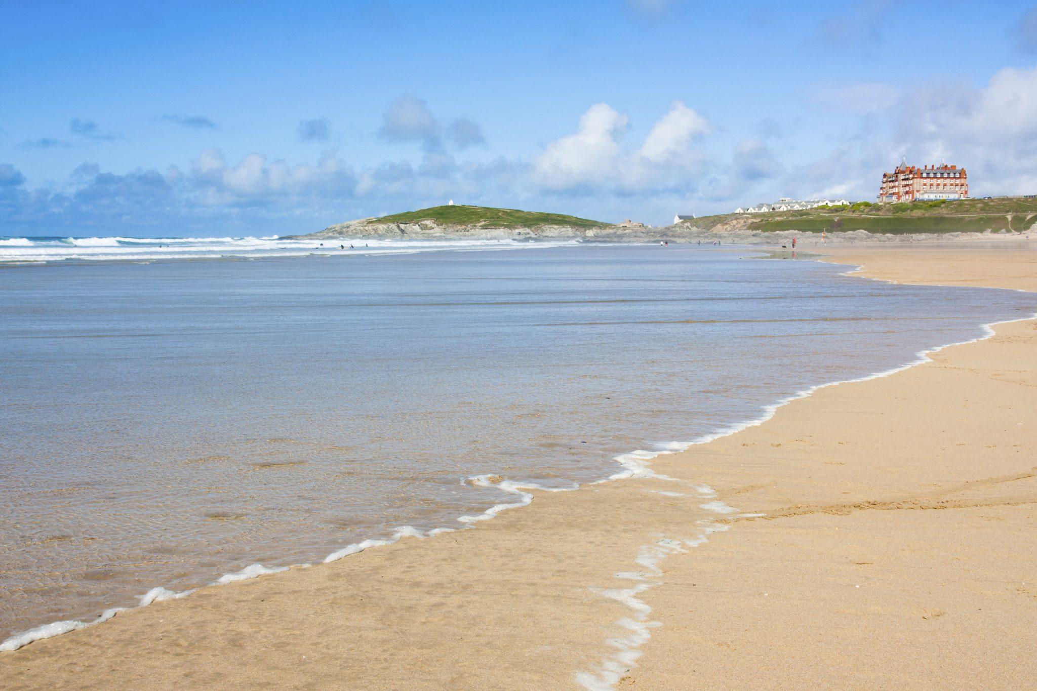 Family Beach Holidays UK -Fistral Beach Newquay