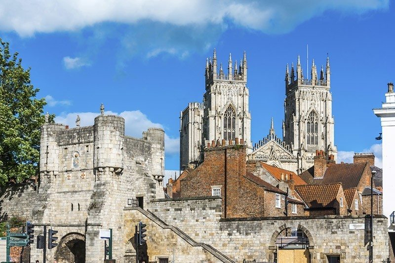 York Family Holiday - city view