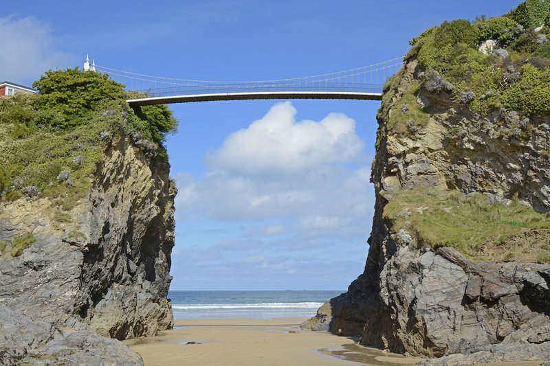 Beach Family Holidays UK - Fistral beach
